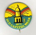 Old Capitol Week� badge for Homecoming, October 28, 1972