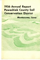 1956 Poweshiek County Soil and Water Conservation District Annual Report