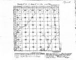 Iowa land survey map of t090n, r044w