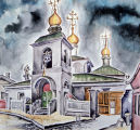 The conception of the Holy Virgin, Moscow