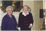 Margo Osherenko and Babette Wurtz in their childhood home, April 1, 1998