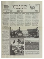 Quad-District Conservation Newsletter; Vol. 1, no. 1 (2000, Winter).