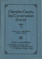 Cherokee County Soil Conservation District Annual Report - 1950
