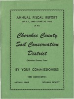 Cherokee County Soil Conservation District Annual Report - 1966