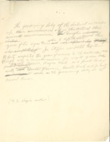 Notes of Ernest E. Sage