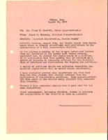 1944 Letter to state conservationist