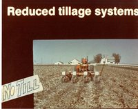 No till reduced tillage