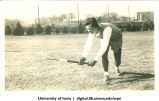 Field hockey player, The University of Iowa, December 4, 1935