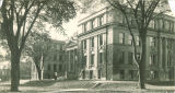 Schaeffer Hall viewed from the northeast, the University of Iowa, 1920