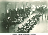Student registration at Iowa Memorial Union, The University of Iowa, 1930s