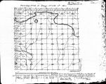 Iowa land survey map of t068n, r005w
