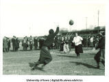 Students playing field ball, November 22, 1919