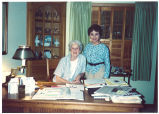 Mary Louise Smith with Emy S. Bruce, August 5, 1991