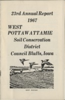 West Pottawattamie County Soil Conservation District Annual Report - 1967