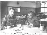 David W. Plath and Ozaki Masutaro at Shinkyo commune, Nara-ken, Japan, 1965