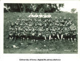 Football team and Coach Ingwersen, The University of Iowa, 1928