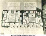 Displays of University printed material, The University of Iowa, 1913-1917