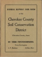 Cherokee County Soil Conservation District Annual Report - 1959