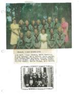 Beaman Girl Scouts, 1942