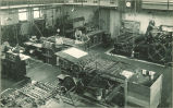 Printing presses in Close Hall, The University of Iowa, 1920s