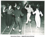 Hick Hawks square dancing, The University of Iowa, 1940s