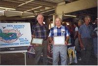 1998 - Virgil Massner, Landlord/Tenant Award winner, stands next to Steve Licko on the right