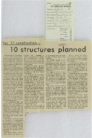 1971 - 10 Structures Planned