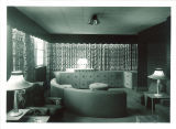 Killian Company furnished lounge in Hillcrest, the University of Iowa, Sept. 16, 1952