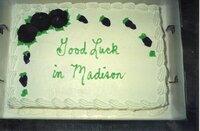 J.B. Martin's Going Away Party Birthday Cake