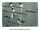 Iowa-Notre Dame football game at Kinnick Stadium, The University of Iowa, November 11, 1939