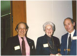 Mary Louise Smith with two colleagues, ca. May 1990