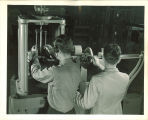 Engineering students in a laboratory, The University of Iowa, 1939