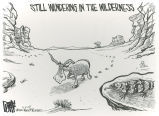 Still wandering in the wilderness