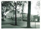 Engineering Building at corner of Washington and Madison Streets, the University of Iowa, 1950s