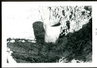 Kemp & Kemp Repairing Inlet at Dr. Carlsen Pond, 1969