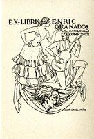 Enric Granados Bookplate