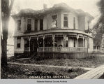 Oskaloosa Hospital, 1896; Mahaska County; Iowa