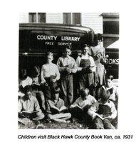 Black Hawk County Book Van, ca.1931