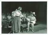 High school production of one-act play Sunday costs five pesos, The University of Iowa, July 1957