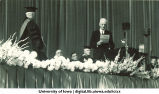 Inauguration ceremony, The University of Iowa, 1934