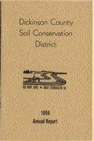 Dickinson County Soil Conservation District Annual Report - 1956.