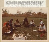 Teachers attend a Conservation Education Workshop.