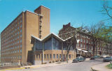Carrie Stanley Hall and Currier Hall, the University of Iowa, 1960s