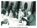 Reunion banquet, The University of Iowa, 1960s