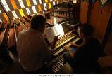 Organ lessons at Gloria Dei, The University of Iowa, September 5, 2008