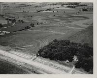 Strip cropping on the Lehman farm.