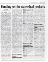 Funding Set for Watershed Projects