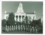 Scottish Highlanders near Old Capitol, The University of Iowa, 1978 or 1979