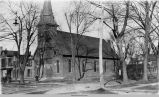 St. Mary's Catholic Church, circa 1896, Oskaloosa, Iowa; Mahaska County