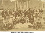 Sophomore class photo, The University of Iowa, 1874